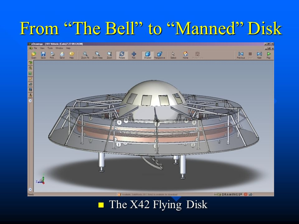 From The Bell to Manned Disk