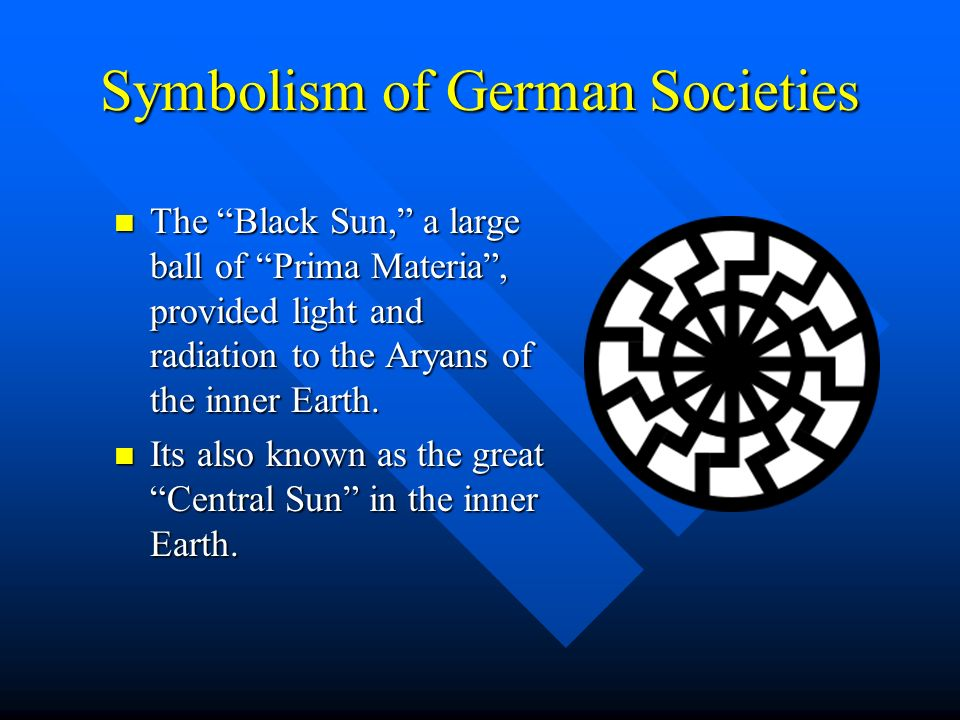 Symbolism of German Societies