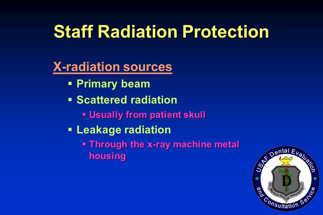 Staff Radiation Protection