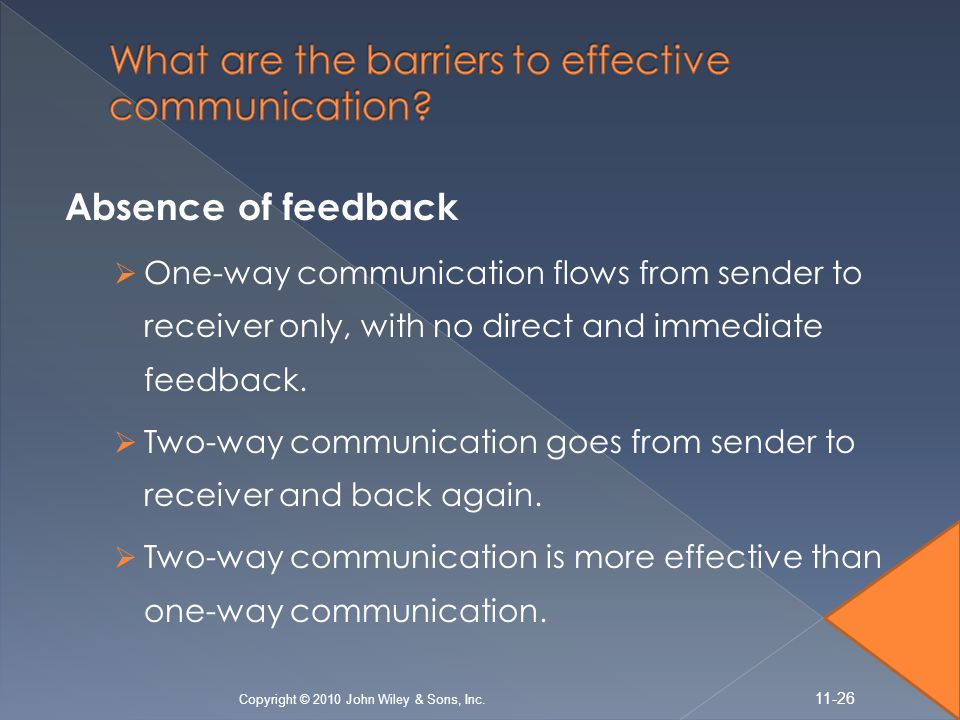 What are the barriers to effective communication