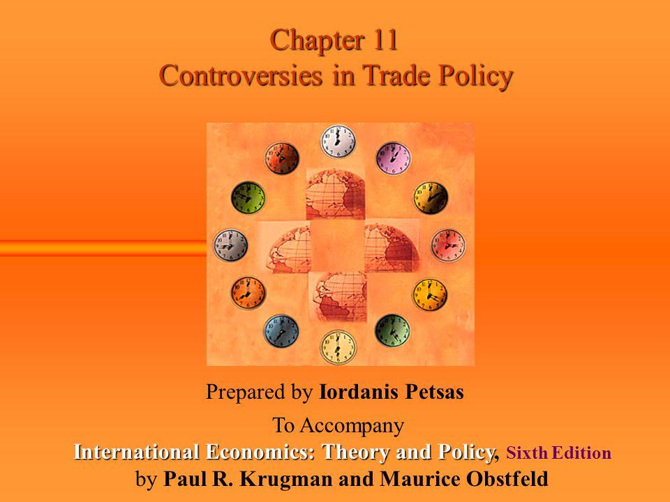 International Economics: Theory and Policy, Sixth Edition