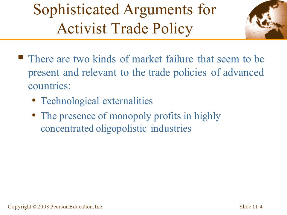 Sophisticated Arguments for Activist Trade Policy