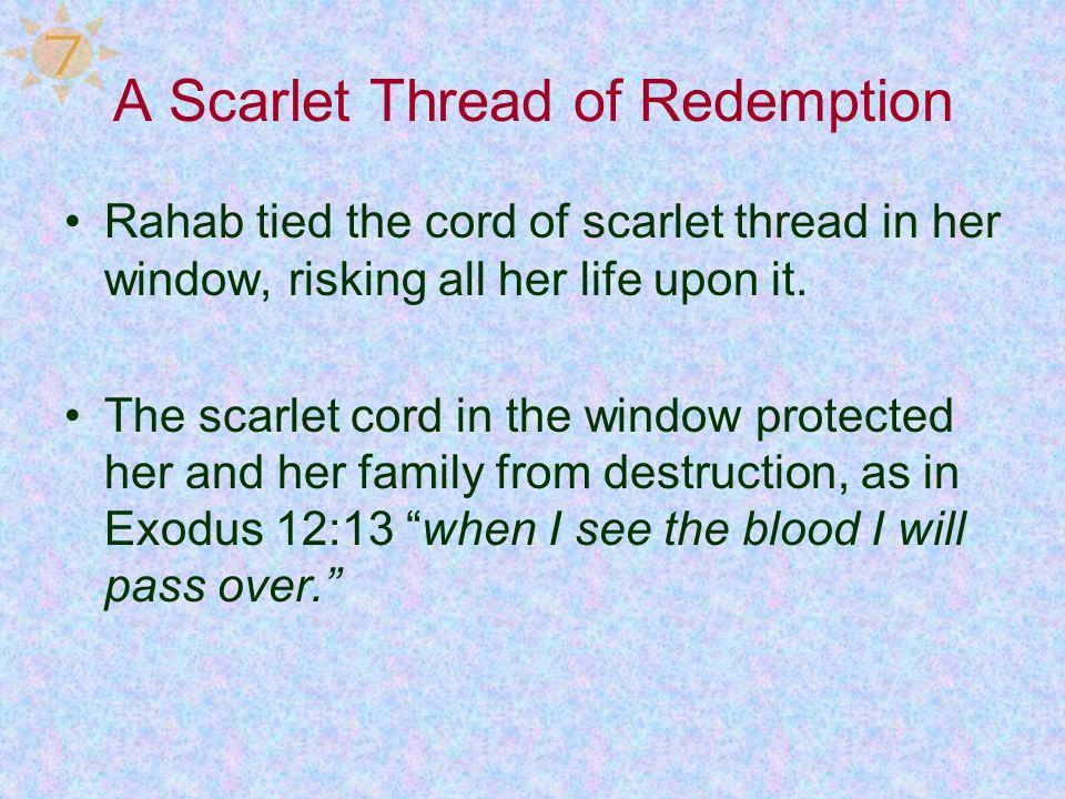 A Scarlet Thread of Redemption