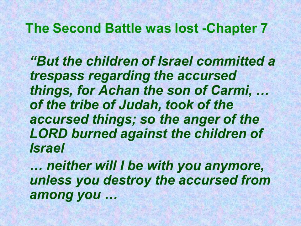 The Second Battle was lost -Chapter 7