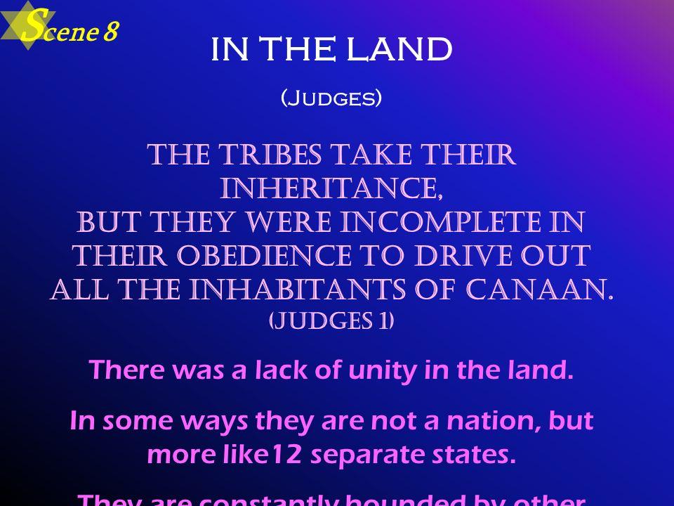 Scene 8 in the land. (Judges)