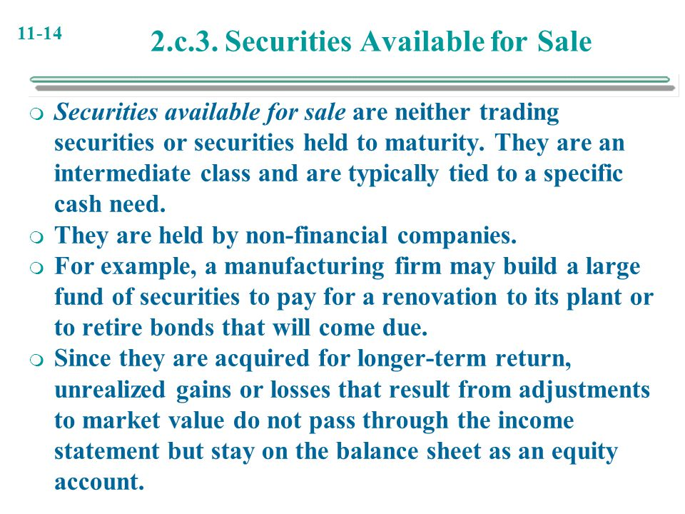 2.c.3. Securities Available for Sale