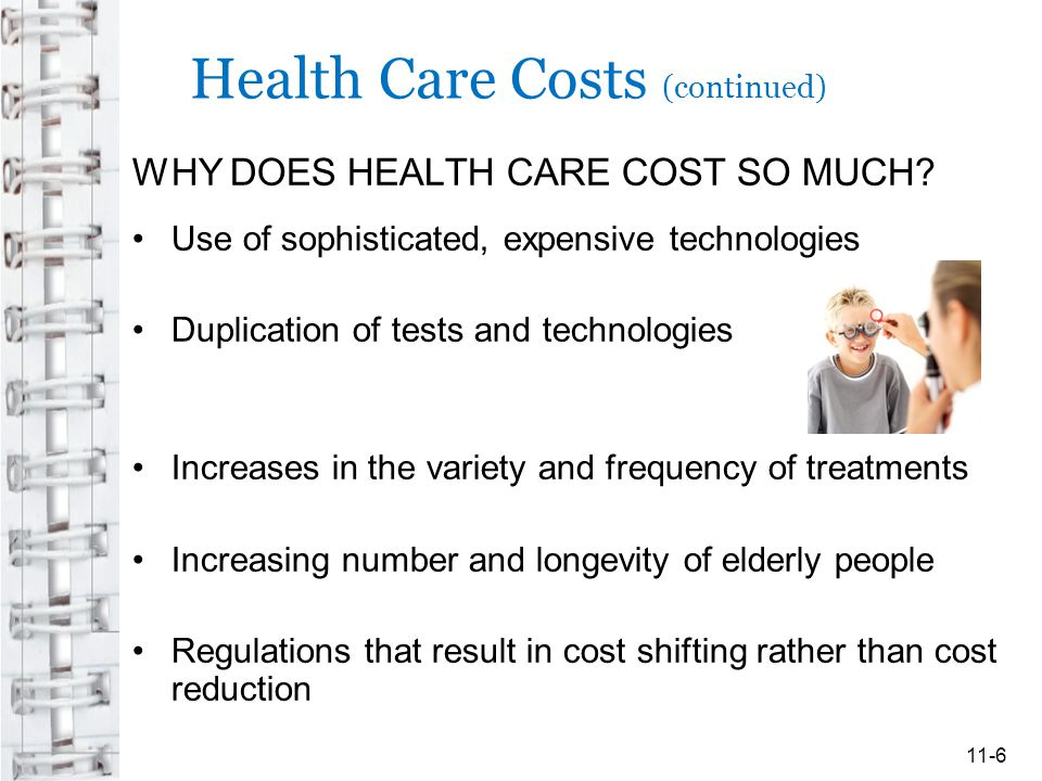 Health Care Costs (continued)