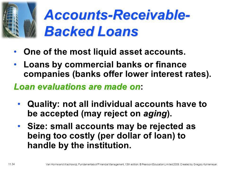 Accounts-Receivable-Backed Loans