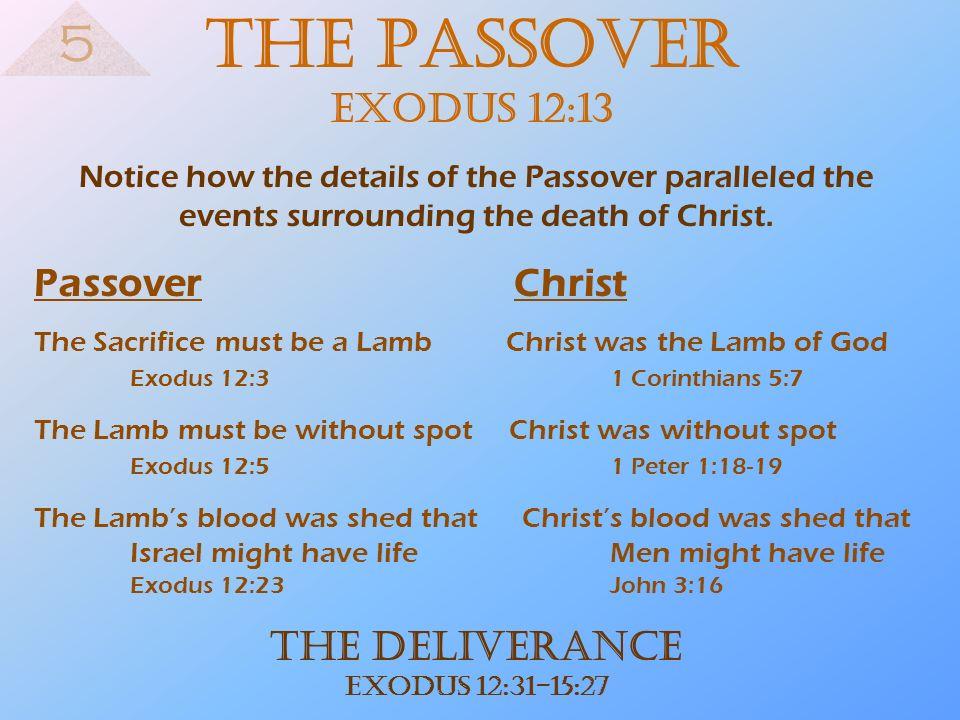 The Deliverance Exodus 12:31-15:27