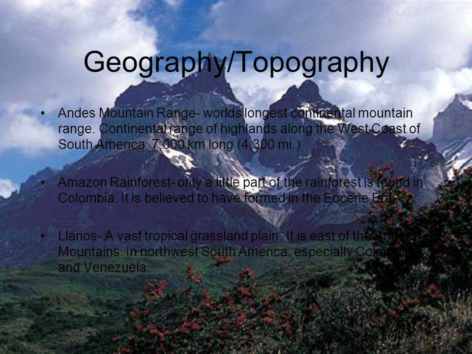 Geography/Topography