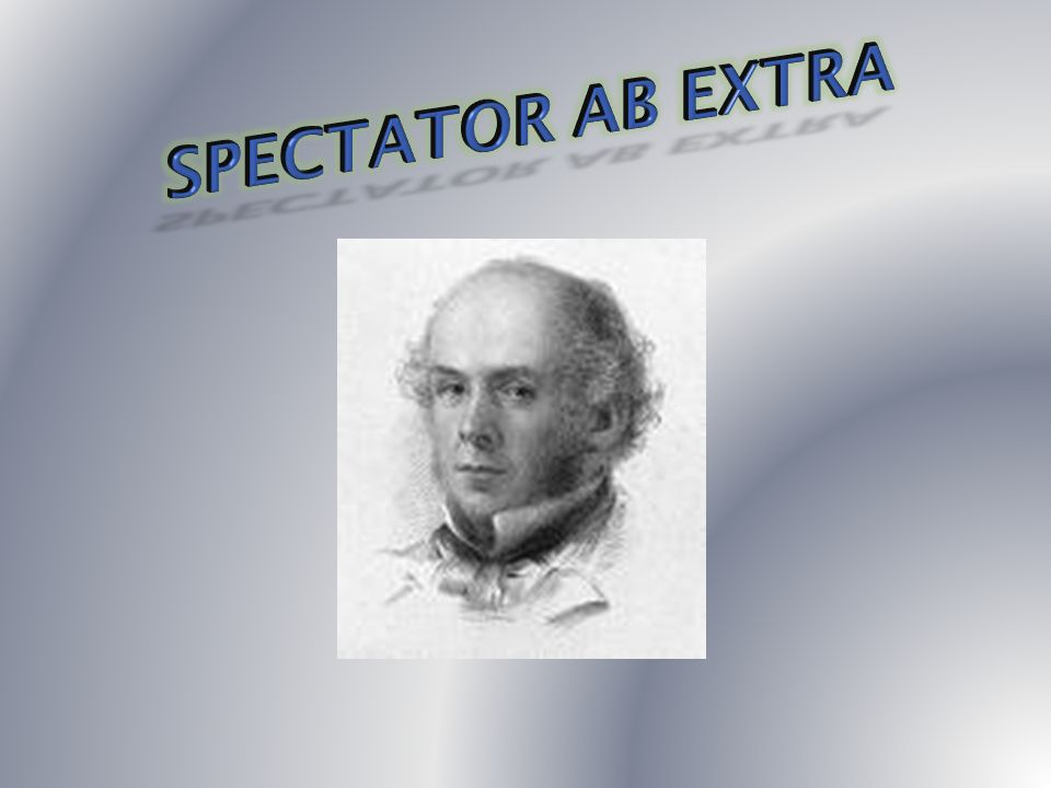 Spectator Ab Extra