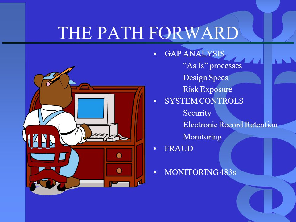 THE PATH FORWARD GAP ANALYSIS As Is processes Design Specs