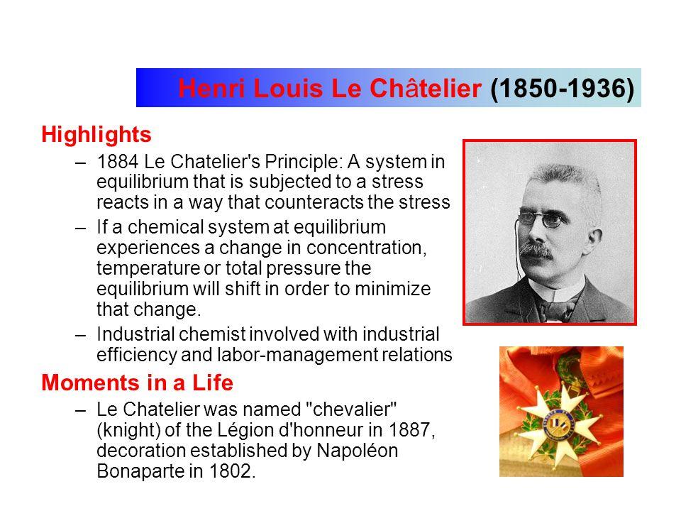 Henri Louis Le Châtelier (1850-1936)