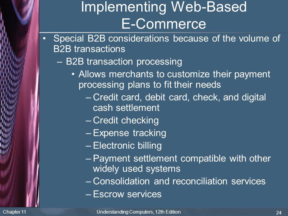 Implementing Web-Based E-Commerce