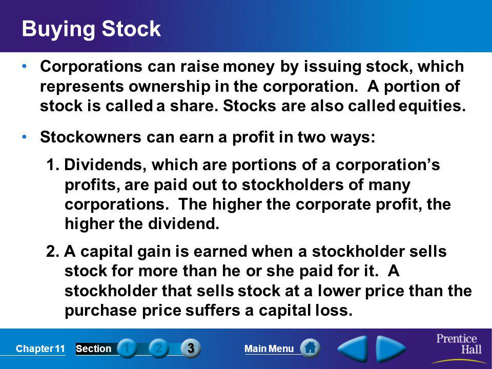 Buying Stock
