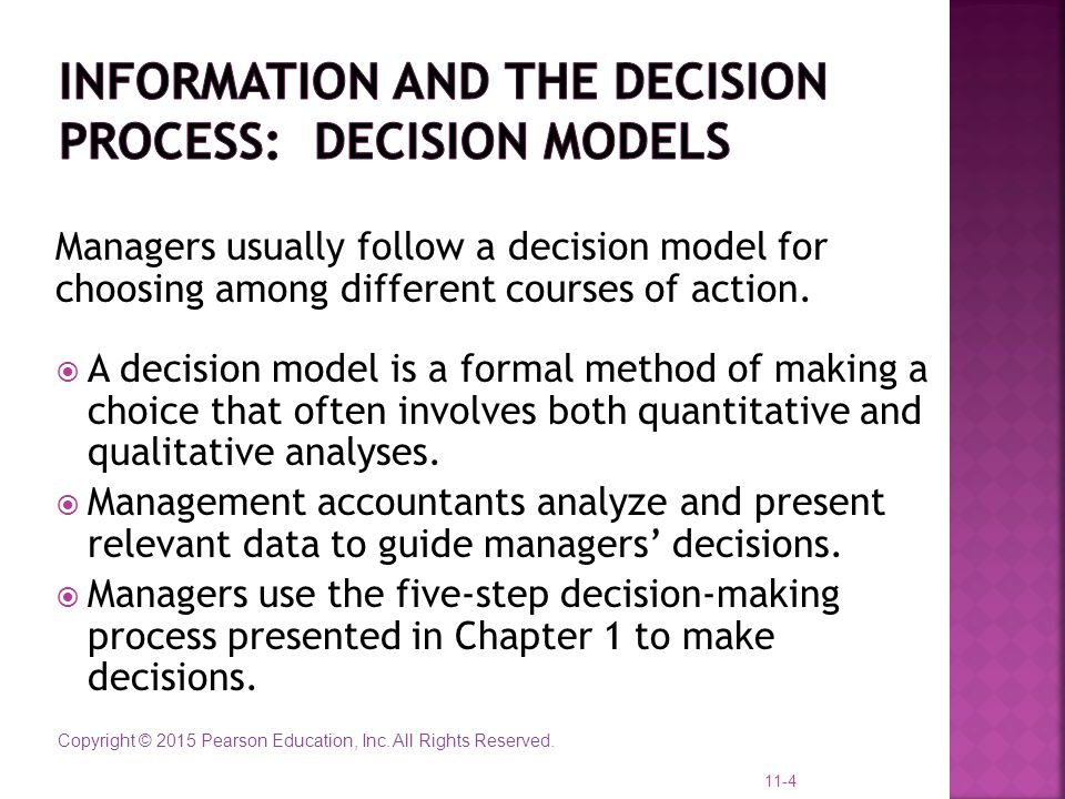 relevant information for decision making Creating relevant information for decision-making jonathan yip manager of operations analysis and planning utah transit authority.