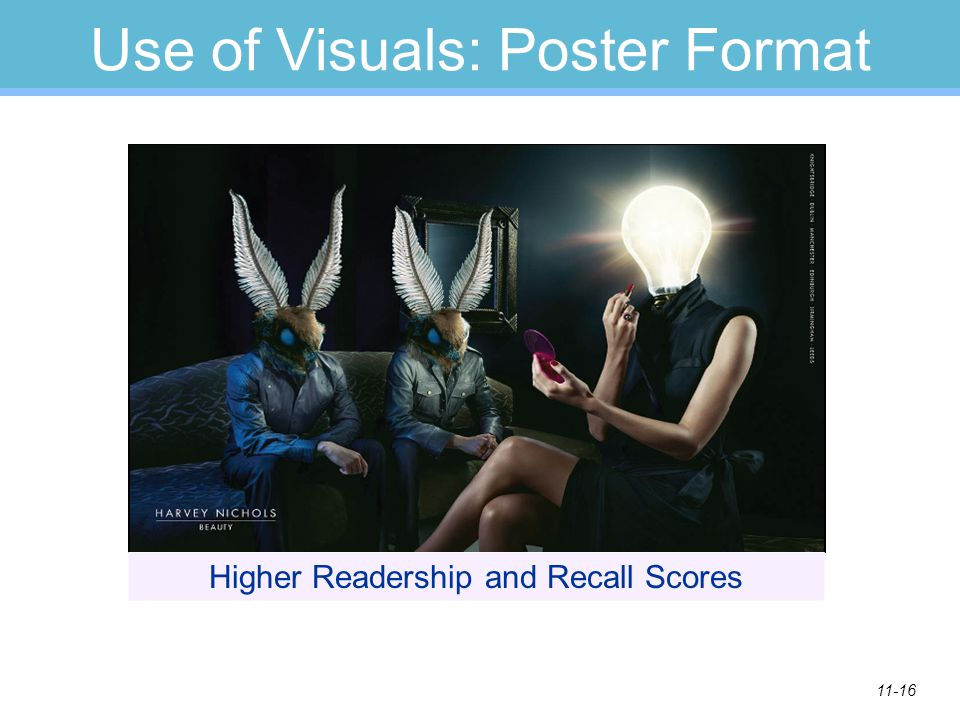 Use of Visuals: Poster Format