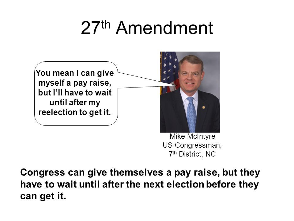 Mike McIntyre US Congressman, 7th District, NC