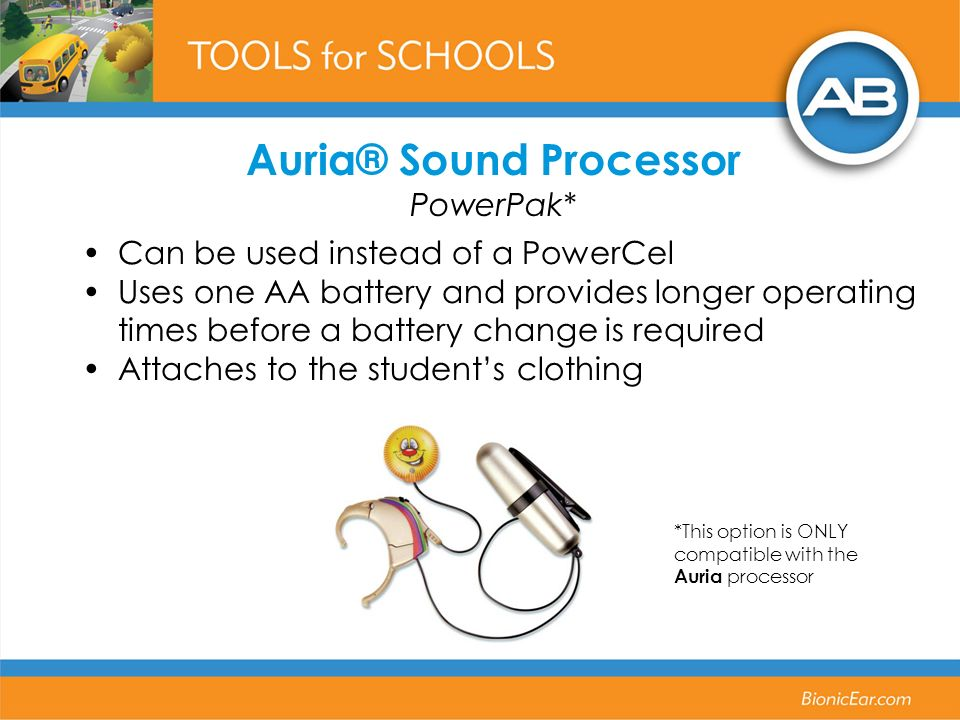 Auria® Sound Processor PowerPak*