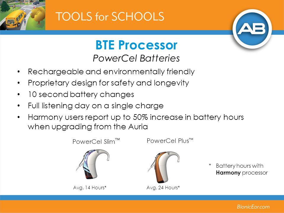 BTE Processor PowerCel Batteries