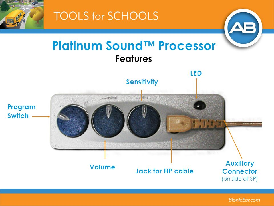 Platinum Sound™ Processor Features