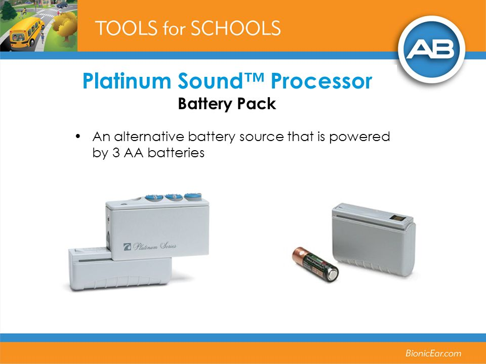 Platinum Sound™ Processor Battery Pack