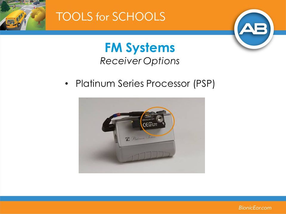 FM Systems Receiver Options