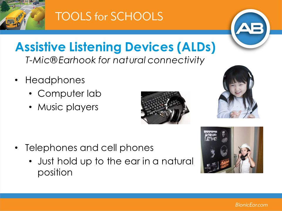Assistive Listening Devices (ALDs) T-Mic® Earhook for natural connectivity