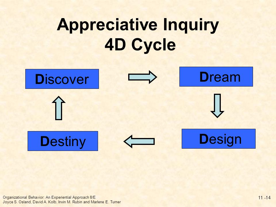 Appreciative Inquiry 4D Cycle