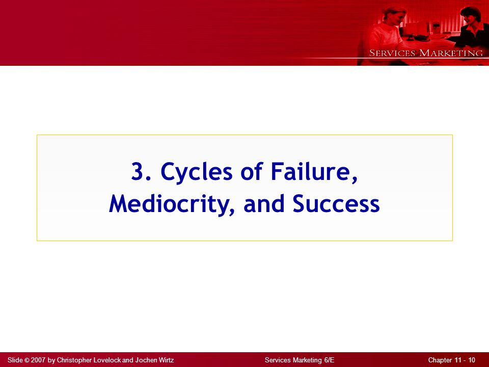 3. Cycles of Failure, Mediocrity, and Success