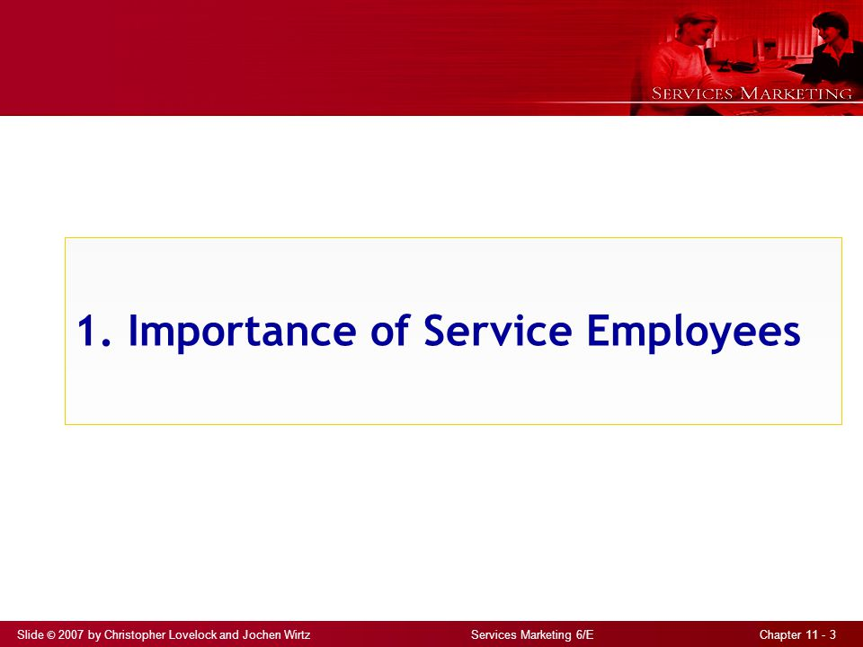 1. Importance of Service Employees