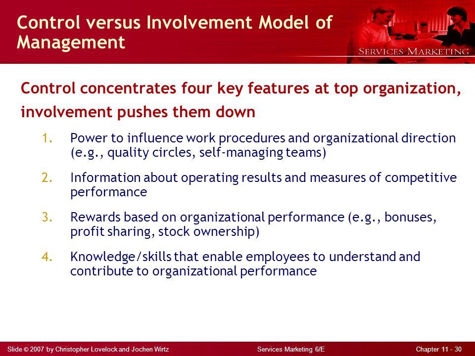 Control versus Involvement Model of Management