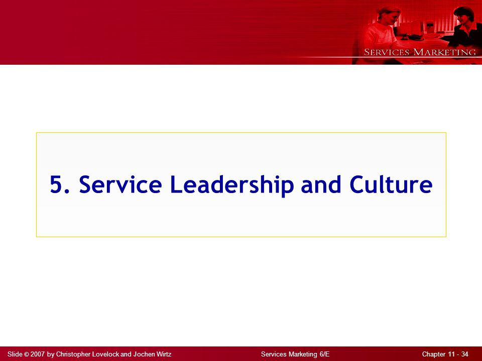 5. Service Leadership and Culture