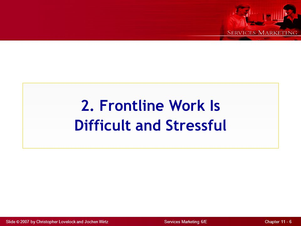 2. Frontline Work Is Difficult and Stressful