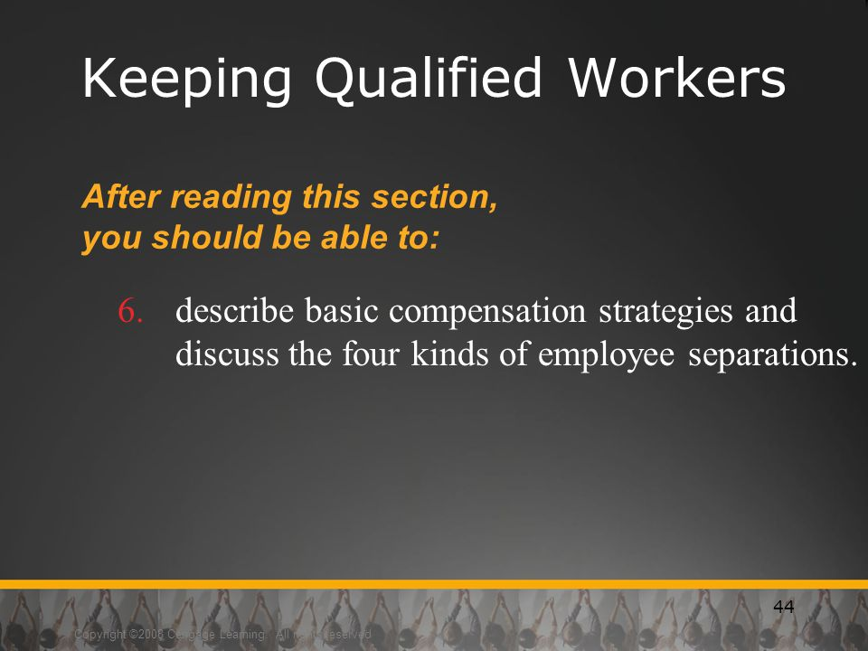 Keeping Qualified Workers
