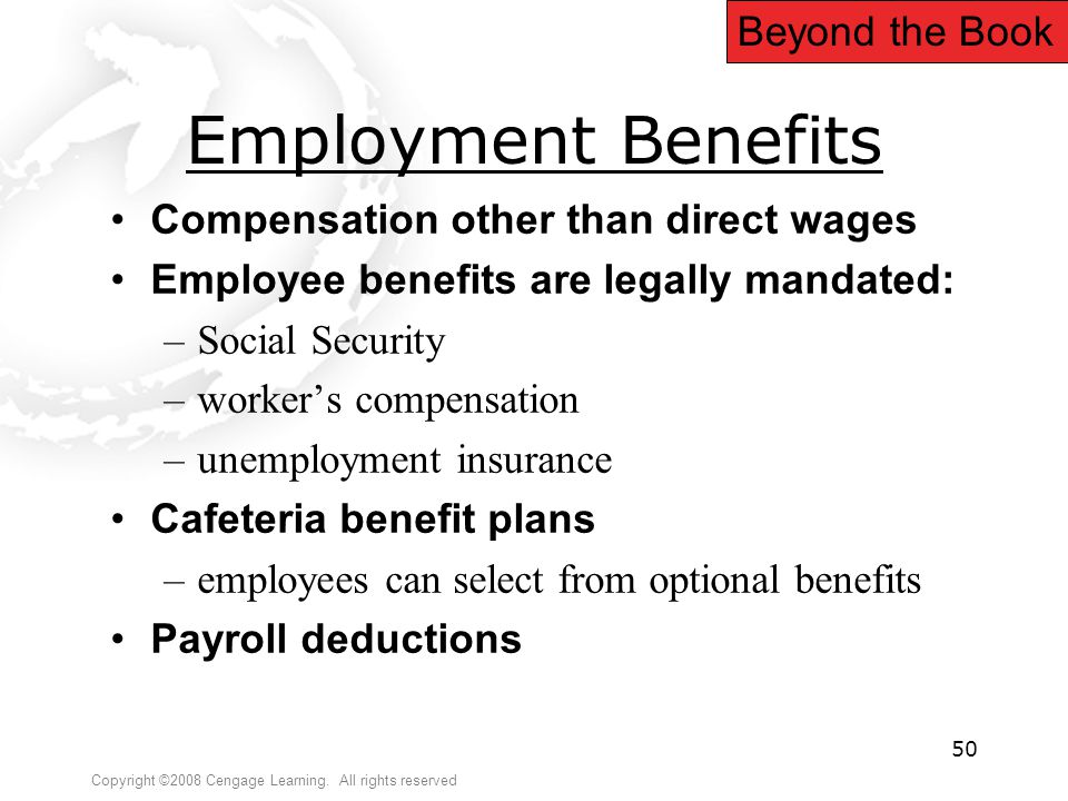 Employment Benefits Beyond the Book