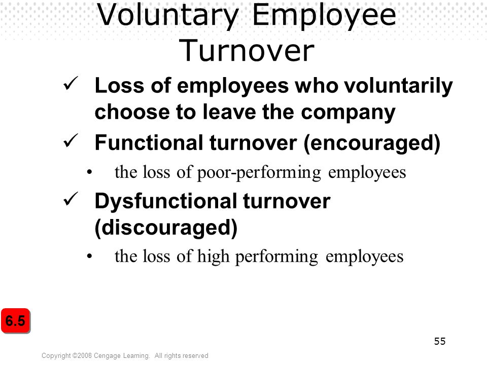 Voluntary Employee Turnover