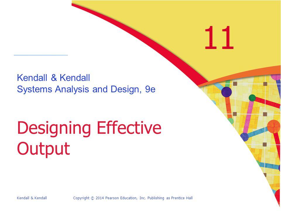 Designing Effective Output