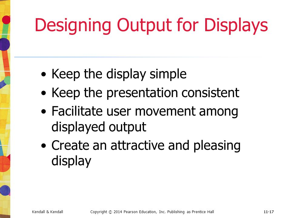 Designing Output for Displays