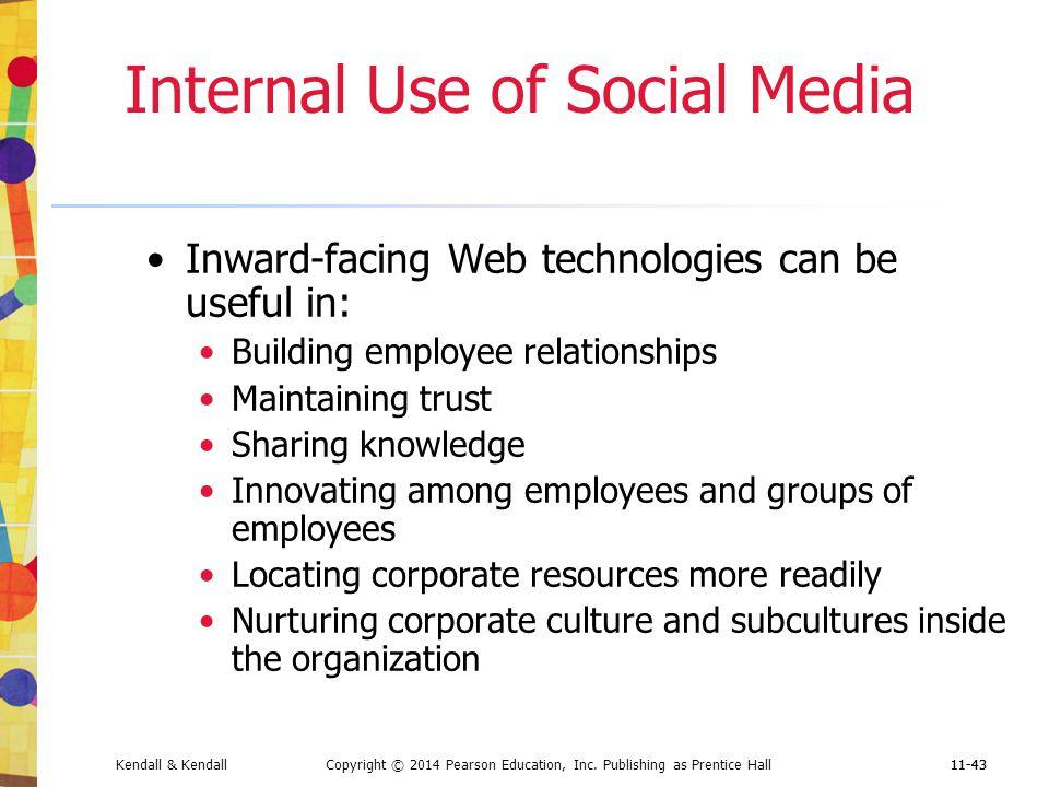 Internal Use of Social Media