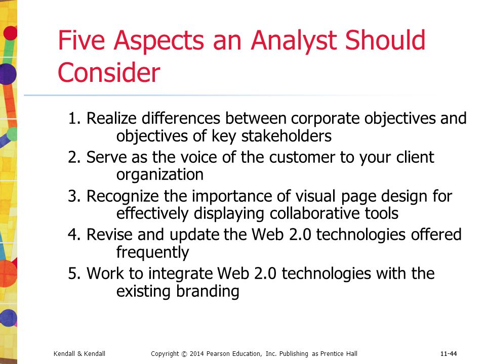 Five Aspects an Analyst Should Consider