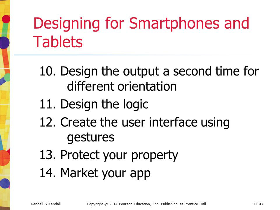 Designing for Smartphones and Tablets