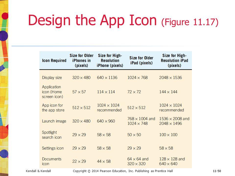 Design the App Icon (Figure 11.17)