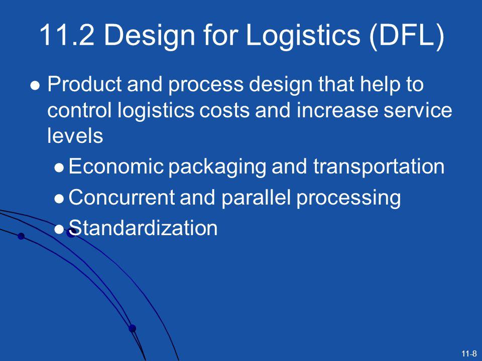 11.2 Design for Logistics (DFL)