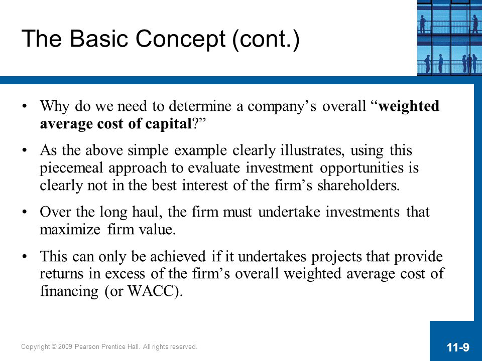 The Basic Concept (cont.)
