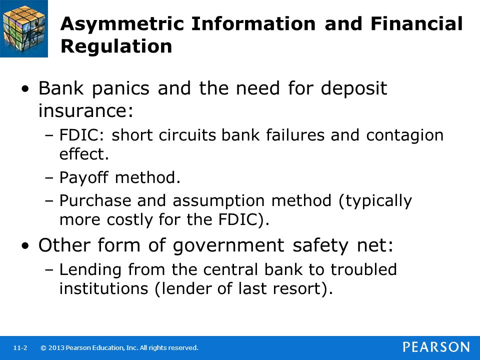 Asymmetric Information and Financial Regulation
