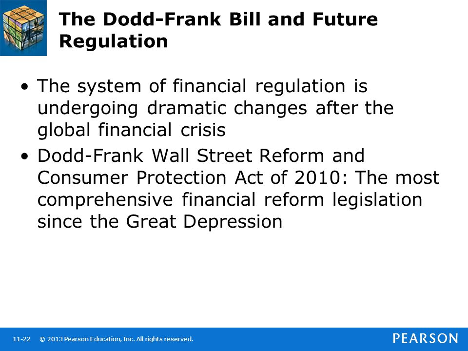 The Dodd-Frank Bill and Future Regulation