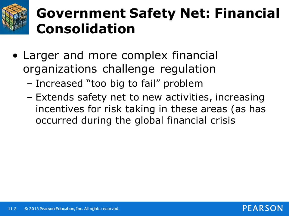 Government Safety Net: Financial Consolidation