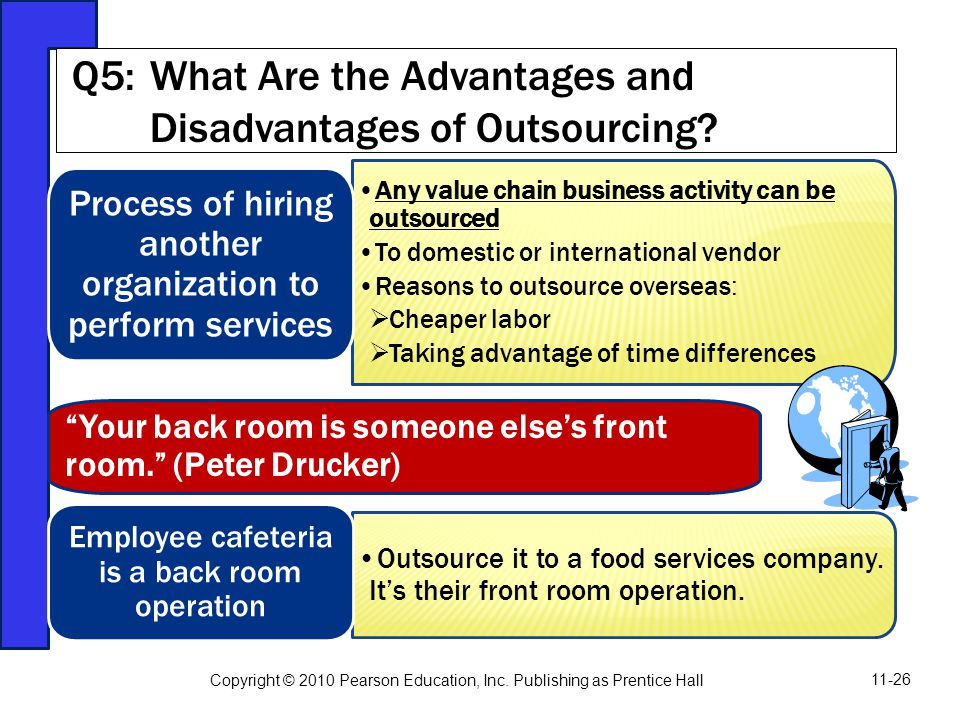 Q5: What Are the Advantages and Disadvantages of Outsourcing