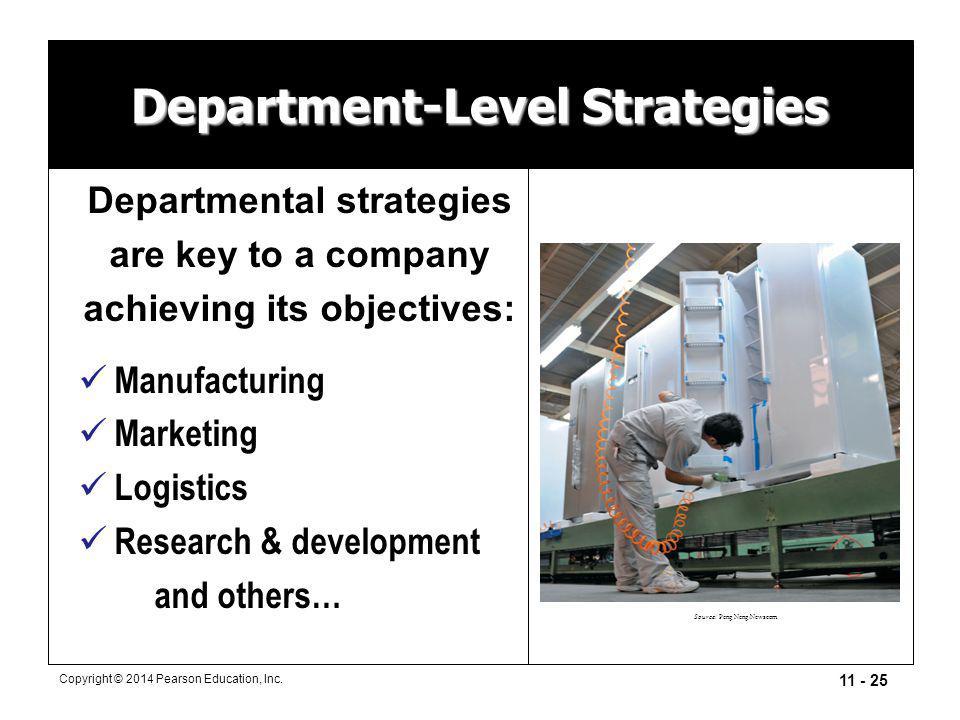 Department-Level Strategies